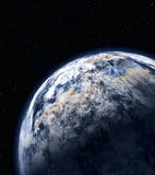 Planet in space Royalty Free Stock Photography