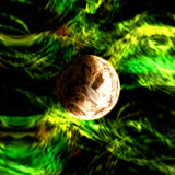 Planet in space Stock Images
