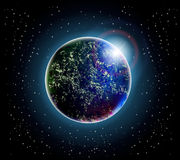 Planet and space Stock Photo