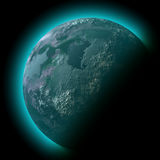 Planet space illustration Royalty Free Stock Photo