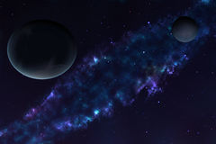 Planet, space Royalty Free Stock Photos