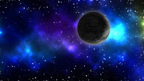 Planet in the space Royalty Free Stock Image