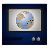 Planet television Stock Images
