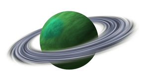 Planet Uranus Royalty Free Stock Image