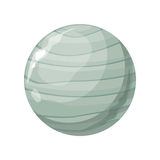 Planet Uranus Icon Stock Photo