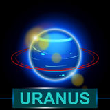 Planet uranus Stock Photo