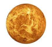 Planet Venus Isolated Elements dieses Bildes ausgestattet von der NASA lizenzfreie abbildung
