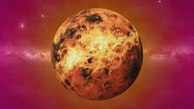 Planet Venus, the second planet from the Sun, planet in the Solar System stock images