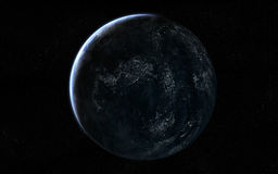 Planet view Royalty Free Stock Image