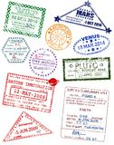Planet visas Stock Photography