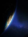 Planet vom Platz Lizenzfreies Stockfoto