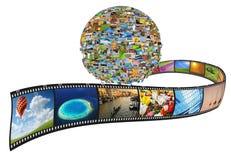 Planet von Bildern Lizenzfreie Stockfotos