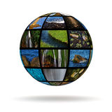Planet water Stock Photography