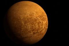 planeta 3D y espacio Imagen de archivo