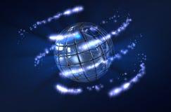 Planeta abstrato Imagens de Stock