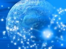 Planeta abstrato foto de stock royalty free