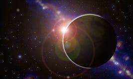 Planeta antes do sund Foto de Stock