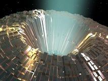 Planeta artificial Fotos de Stock Royalty Free