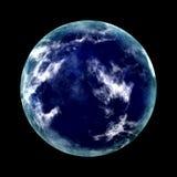 Planeta azul Foto de Stock