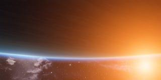 Planeta azul Imagens de Stock