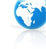 Planeta azul ilustração do vetor