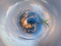 Planeta azul Foto de archivo