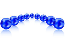 Planeta azul Fotografia de Stock Royalty Free
