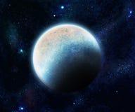 Planeta azul stock de ilustración