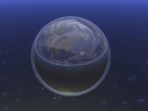 Planeta azul mim Fotos de Stock Royalty Free