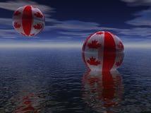 Planeta Canadá Fotos de Stock Royalty Free