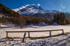 Planeta, Chamonix, Saboya haute, Francia Foto de archivo libre de regalías