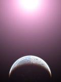 Planeta com vida ilustração royalty free