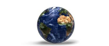 Planeta 3d da terra Fotos de Stock Royalty Free