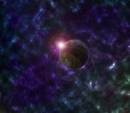 Planeta da galáxia Foto de Stock