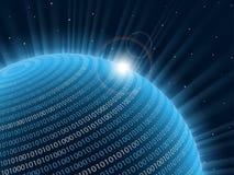 Planeta da tecnologia. Imagem de Stock