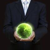 Planeta de Eco Imagem de Stock Royalty Free