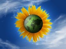 Planeta de Eco Imagenes de archivo