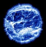 Planeta de explosão Imagens de Stock Royalty Free