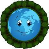 Planeta de florescência Fotos de Stock Royalty Free