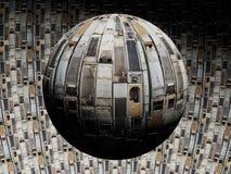 Planeta de la basura Imagen de archivo libre de regalías