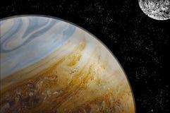 Planeta de la fantasía Foto de archivo libre de regalías