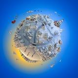 Planeta de la Navidad imagen de archivo libre de regalías