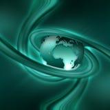 Planeta de la turquesa Foto de archivo libre de regalías