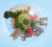 Planeta de Londres Foto de archivo libre de regalías