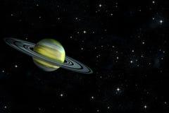 Planeta del anillo Stock de ilustración