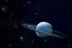 Planeta del anillo Ilustración del Vector