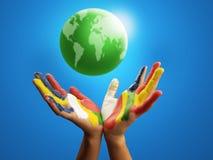 Planeta del color Fotografía de archivo libre de regalías