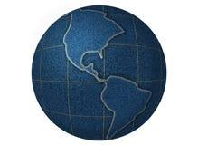 Planeta del dril de algodón Imágenes de archivo libres de regalías