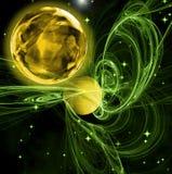 Planeta del oro Imagen de archivo