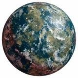 Planeta desconocido ilustración del vector